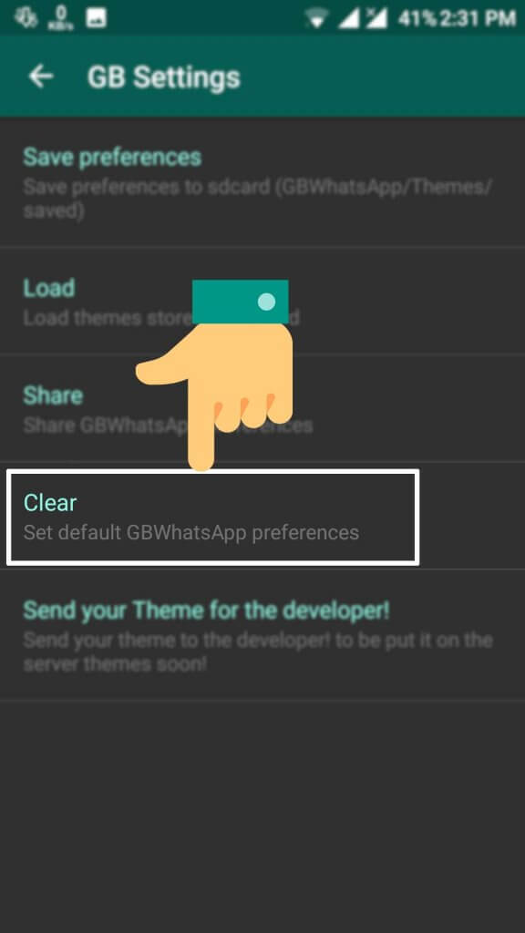 How can we download and apply Whatsapp themes & skins.