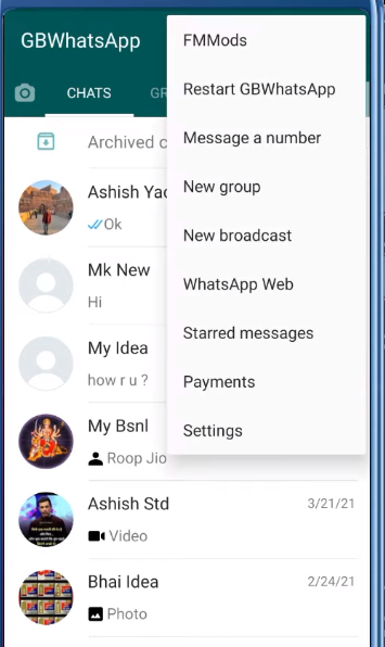 How to Download and Apply Gb Whatsapp Theme & Skins